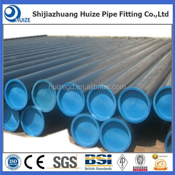 oil pipeline smls pipe black stocking tube from China