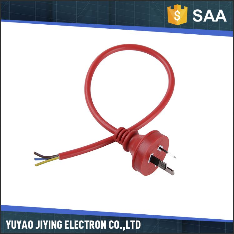 Factory supply different size rubber australian salt lamp power cord