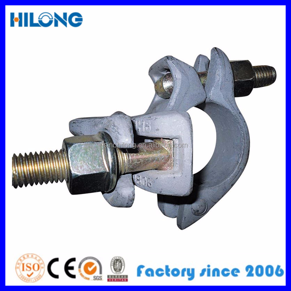 scaffolding single clamp for scaffolding systems