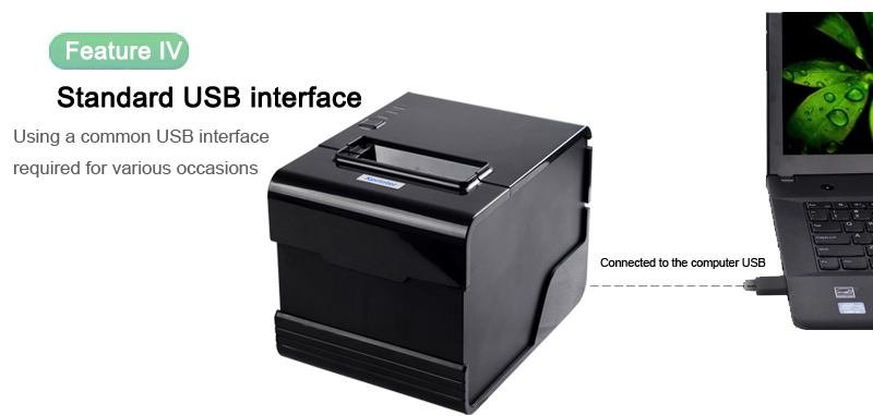 2017 factory price mini 80mm POS thermal printer