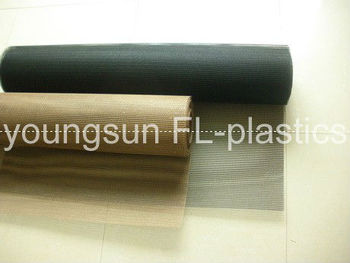 PTFE Coated Fiberglass Mesh Conveyor Belt for tunnel dryer- 4x4mm open mesh