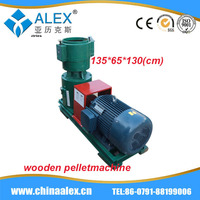 wood pp pe film recycling pelletizing extruder weeds pellet making machine from China AW-400