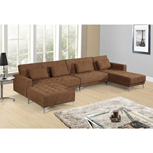 living room wooden sofa sets modern fabric corner sofa