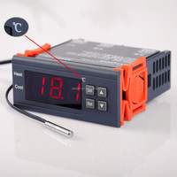 1210B DC 12V 10A Celsius Digital Temperature Controller Aquarium Sensor Celsius Thermostat