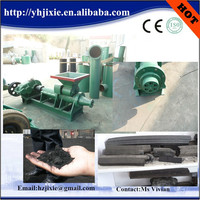 Best sale factory price BBQ charcoal briquette extruder machine/coal rod extruding machine