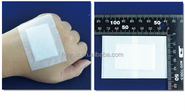 Adhesive non-woven surgical dressing for Catheter fixing with FDA CE certifications