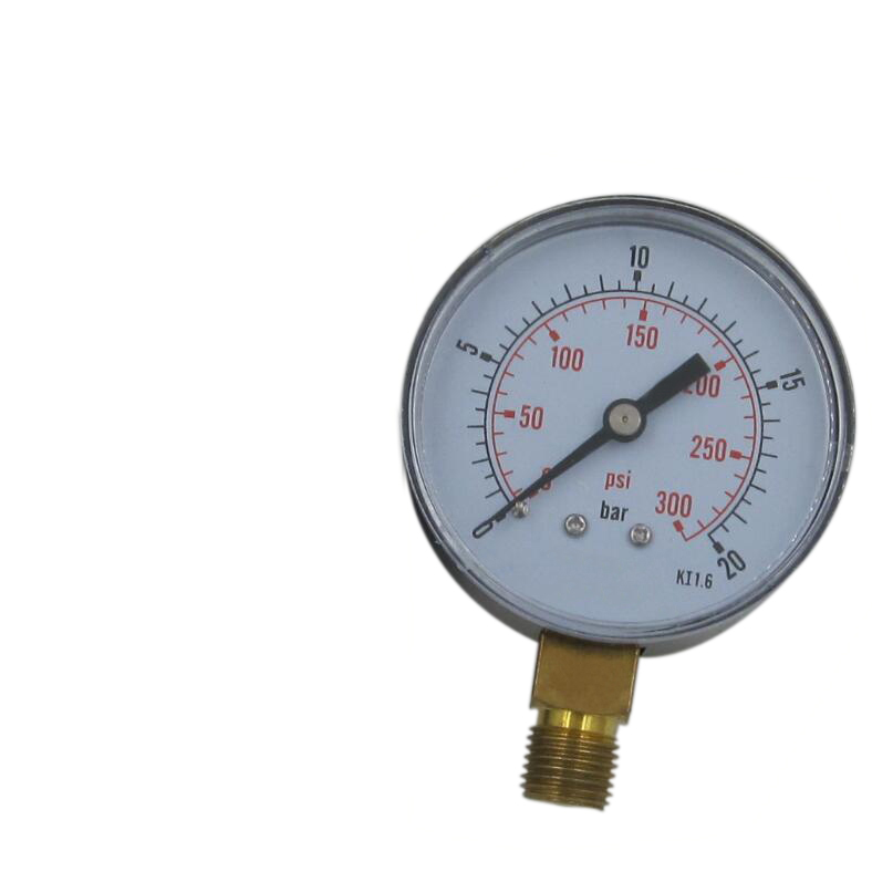 hot sale high quality different type wika pressure gauge en 837-1