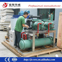CE approved GEA Bock 304Stainless Steel Flake Ice Machine for meat processing