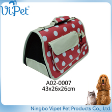 security environmental non-toxic cute dog carrier bag