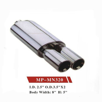 Performance muffler Universal type silencer is available for choice