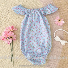Tamil girl name images unique baby romper wholesale floral ruffle flutter sleeve baby romper