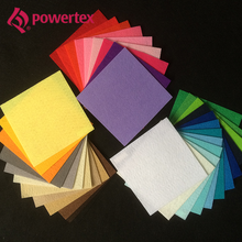 Nonwoven felt for embroidery