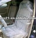 Auto Plastic Disposable Clear Seat Cover