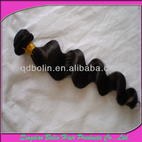 6A Grade loose wave Eurasian Hair Extension Weft In Store 8''-30''