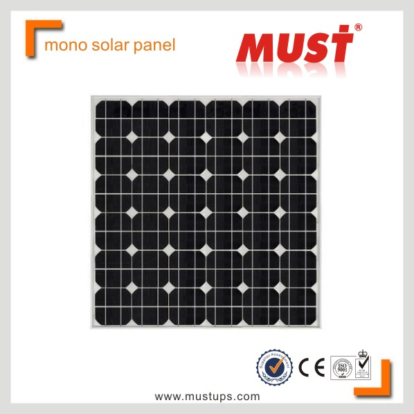 MUST Alibaba Price Per Watt PV Module 50wp Mono Solar Panel