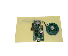 Voice Module with music chip Double-faced Adhesive Paperback Used for Birthday Greeting Card