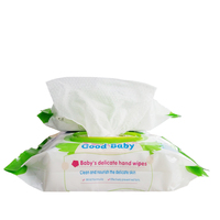 Alcohol Free Competitive Price Baby Care Wet Wipes
