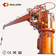 Nucleon Small Material Deck Lifting Crane Boat Lifting Crane