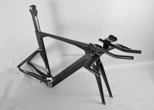 Baolijia newest tt bicycle frames matte carbon time trial bike frame FM087
