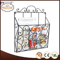 The best choice factory supply wire magazine rack