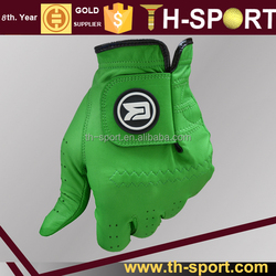 Factory Cabretta golf gloves with your own logo
