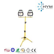 Double LED Portable 20w outdoor led work lights with tripod stand light