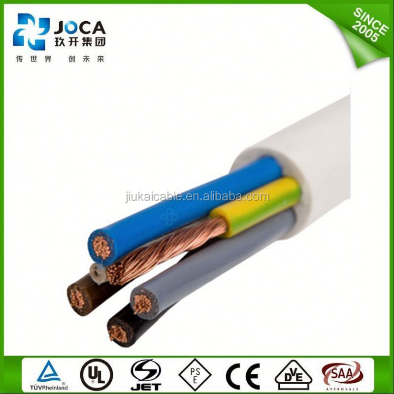 Types of electric conductors 30 years service life electricity house wiring H05VV-F Mongolia Mozambique Namibia