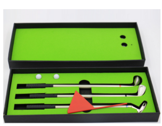 Promotion Golf Club Pen Set Gift