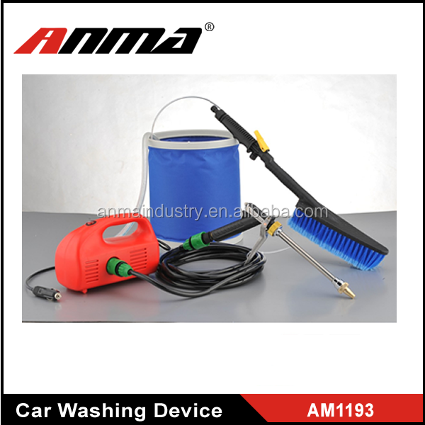 Large Water Tank Integrated Roller Wheels Car Washer