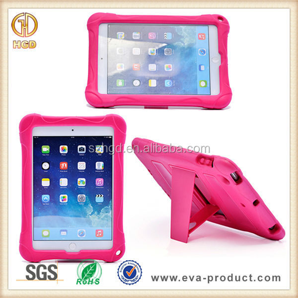 Kido Series Shock Resistant Hybrid Kickstand Tablet Case For iPad Mini