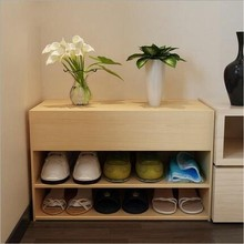 Stable Quality Solid Wood Ventilation Storage Shoe Cabinet