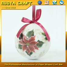 7.5cm Classical Christmas tree hanging decoration ball