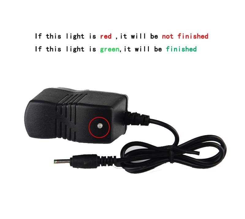 LED flashlight charger USA mode torch recharger US portable 4.2V 0.45A CY-LI020