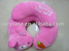 Cute animal beads neck pillow