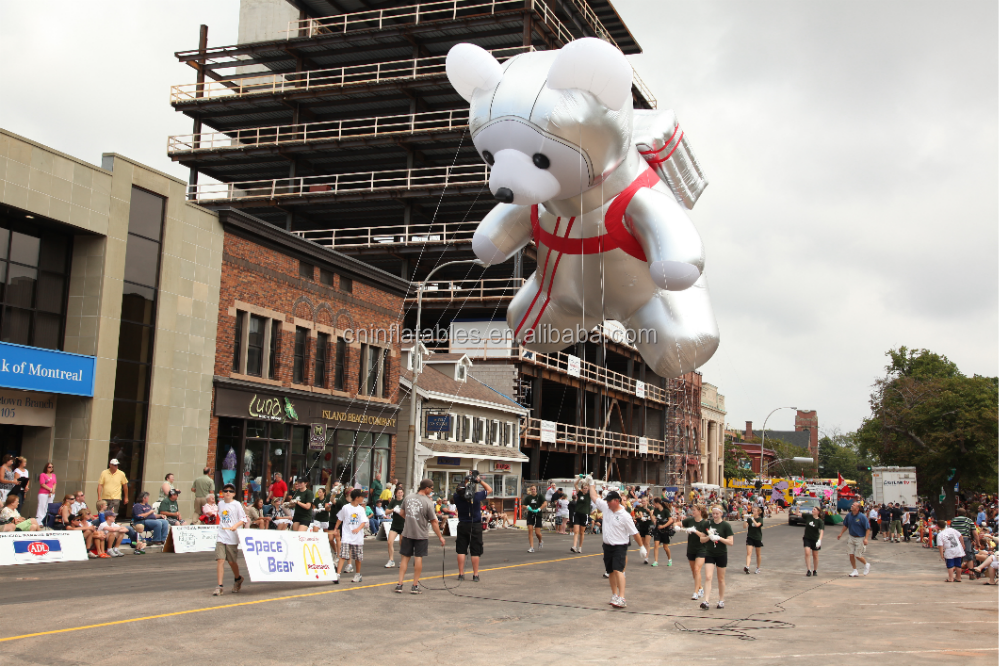 Parade Inflatables / Helium Parade Balloons / Giant Helium/ bear