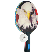 customization pattern ping pong racket wooden table tennis paddle