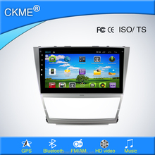 10.1 inch android car dvd player in dash with gps navigator bluetooth TV radio tuner for Toyota Camry