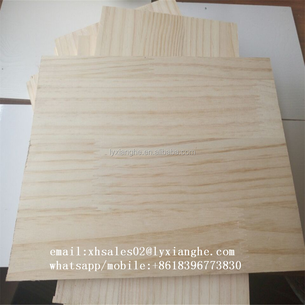 yellow wood finger joint boards 16mm