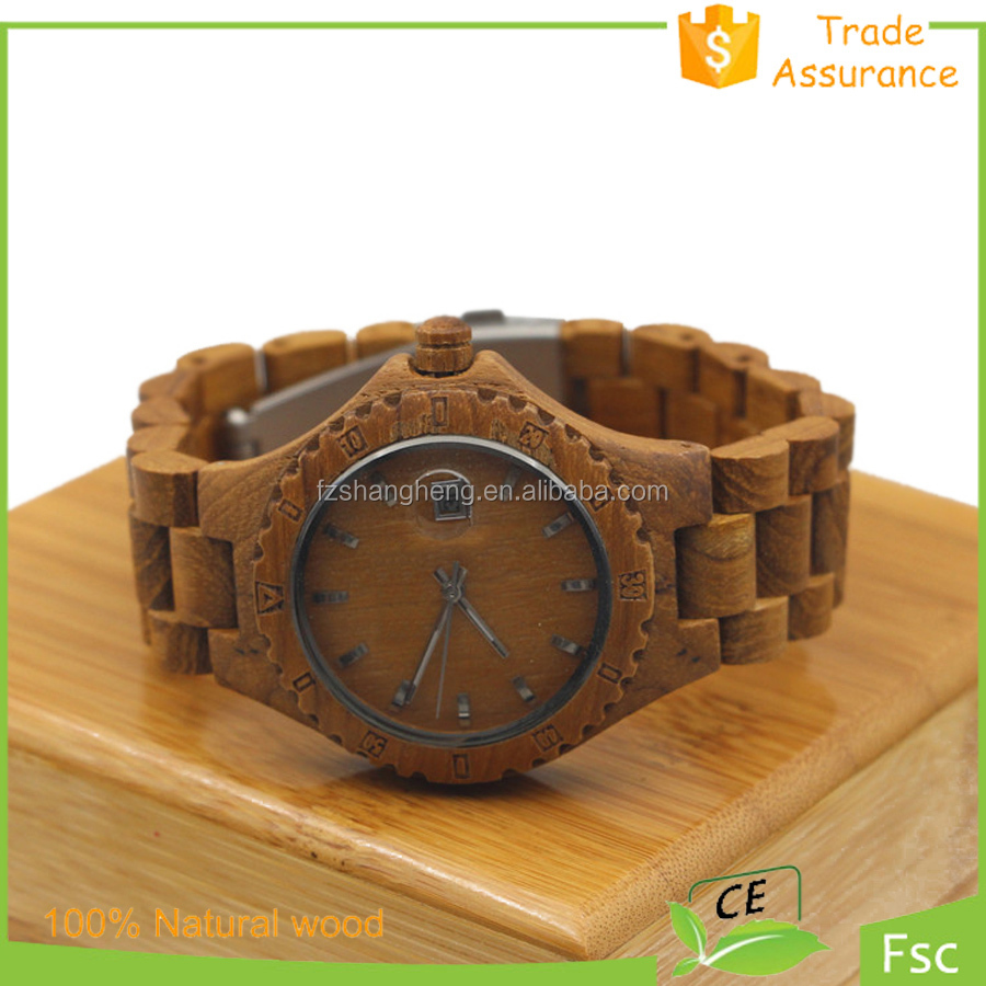 famous brand names logos wooden watches,Fashion all wood watch