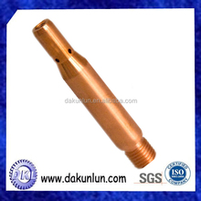 OEM High Precision Copper Pin/Tube With Thread