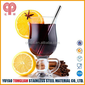 FDA grade stainless steel stirrer/straw