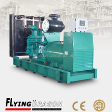 50HZ 500kw durable diesel geneator set 625kva continuous power genset price with cummins engine