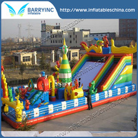 Inflatable fun city amusement for hot sale
