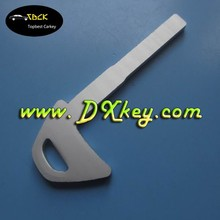 Spare key for Volvo car key blanks emergency key blade aluminium