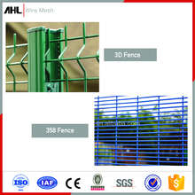 Cheap Weldmesh 2X4 2X2 1/4 Inch Hot Dipped Galvanized 3D 358 Anti Climb Welded Wire Mesh Fencing Security Fence Panels