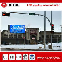 P10 outdoor advertising led display screen prices for commercial