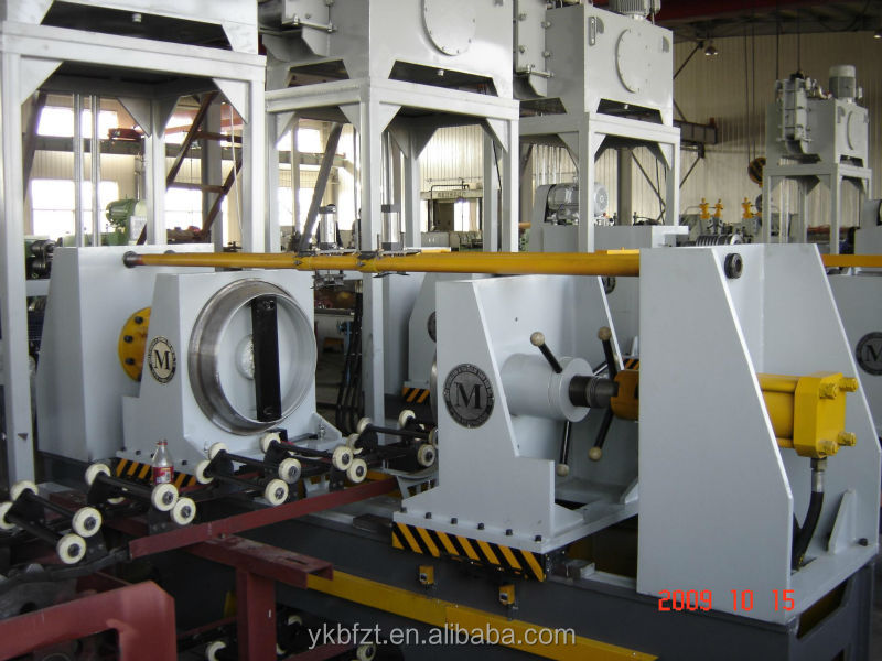 flanging machine for steel barrel production line or steel drum making machine