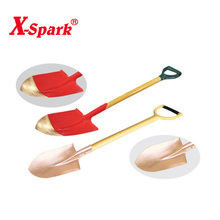 Non Sparking Non Magnetic Hand Tools Round Point Shovel