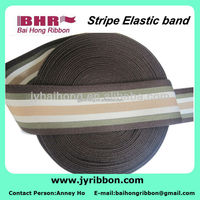 high flexibility elastic knitting webbing band/latex weaving band