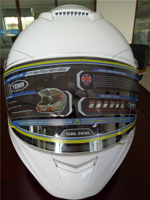 YM-831ECE approved german full face motorcycle helmet 2017 new product